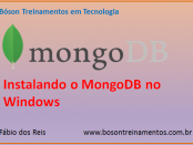 Instalar banco de dados mongoDB no Windows