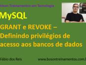 Curso de MySQL - GRANT e REVOKE - Definindo privilégios de acesso aos bancos de dados