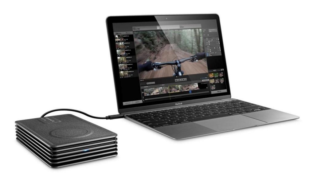HD externo Seagate Innov8 - Desktop e USB