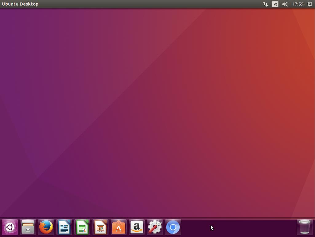 Ubuntu 16.04 - Barra do Lançador