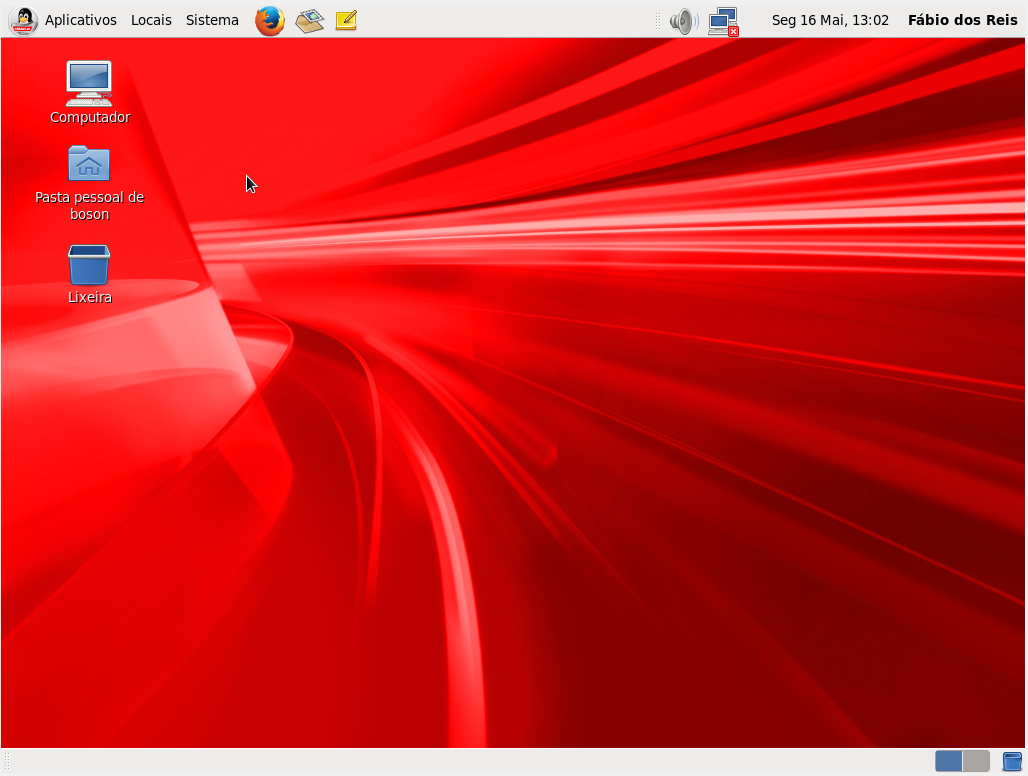 Oracle Linux Server 6.7 instalado