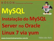 Instalação do MySQL Server no Oracle Linux 7 via YUM