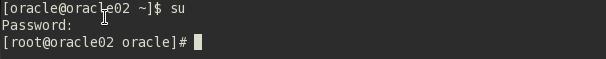 Usuário root para instalação do postgresql