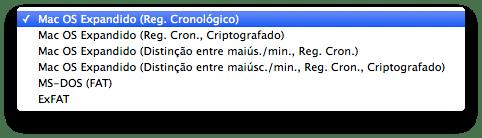 Mac Os X Expandido - Registro Cronológico