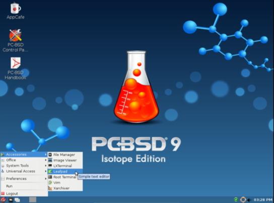 PCBSD - Sistema baseado em BSD