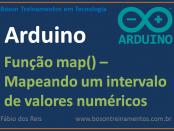 Função map() no arduino - remapeando valores numéricos