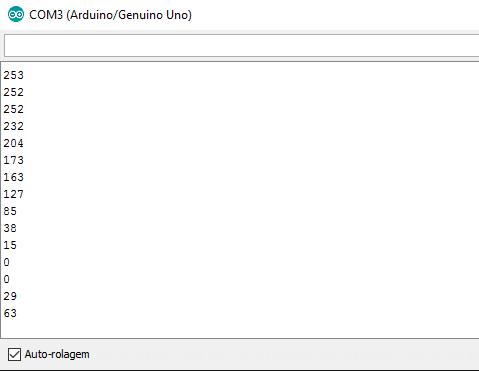 Arduino - Função map() e monitor serial