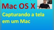 Capturando a tela em um Mac Apple