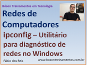 Ferramenta de diagnóstico ipconfig - Windows