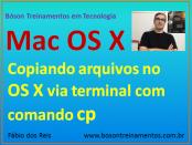 Copiar arquivos com comando cp via terminal