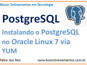 Instalando o PostgreSQL no Oracle Linux 7 via repositório YUM