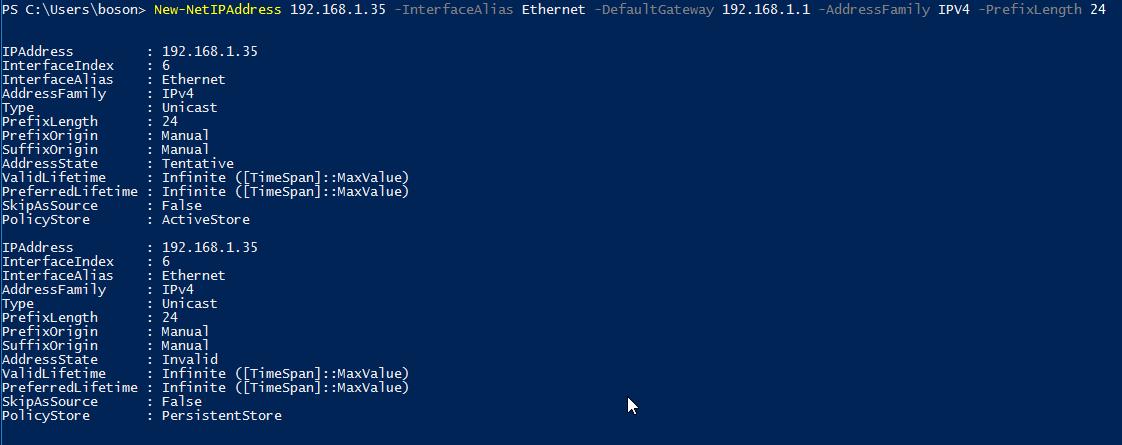 Alterar IP com Windows PowerShell
