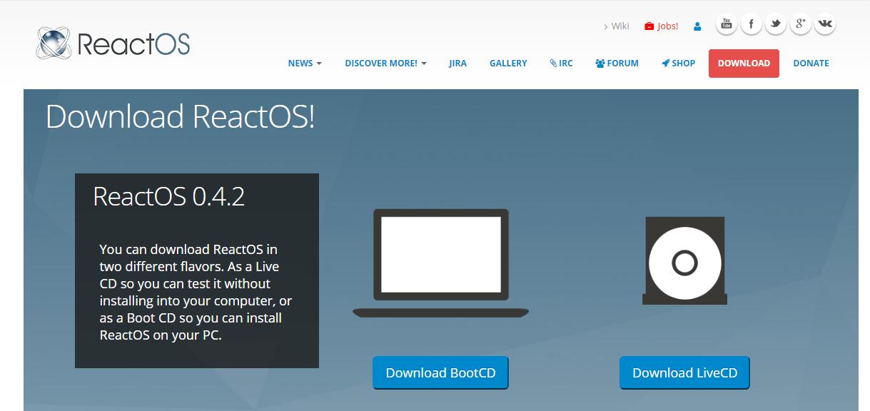 01-ReactOS-Website