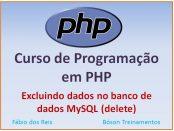 Excluir dados de um banco de dados MySQL com PHP
