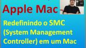 Redefinindo o SMC em um computador Apple Mac