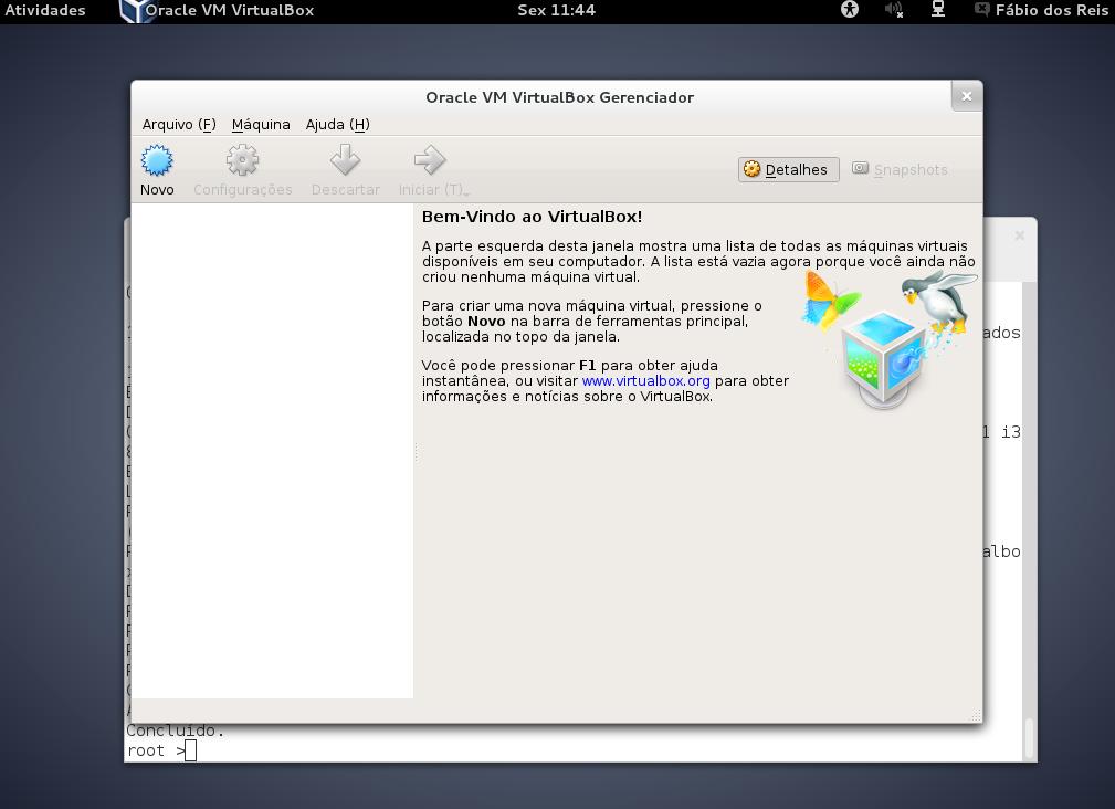 Instalação do Oracle VirtualBox no Debian Linux