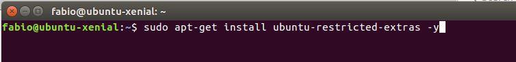 Instalando pacote de codecs do gstreamer no Ubuntu Linux
