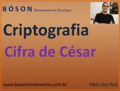 Criptografia com cifra de césar