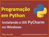 IDE PyCharm no Python