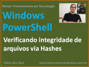Verificando integridade de arquivos com hash MD5 no Windows PowerShell