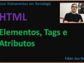 Elementos e tags HTML