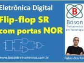 Flip-flop SR com portas lógicas NOR
