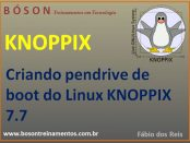 Pendrive de boot do Linux KNOPPIX 7.7