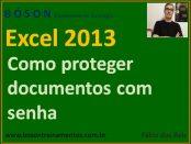 Proteger documento do Excel com senha criptografada