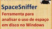 SpaceSniffer - Analisar o uso de espaço em disco no Windows
