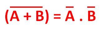 2º Teorema de De Morgan - Eletrônica Digital