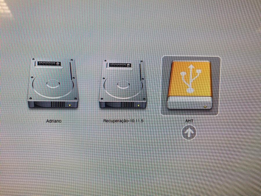 Apple Hardware Test - Boot pelo pendrive