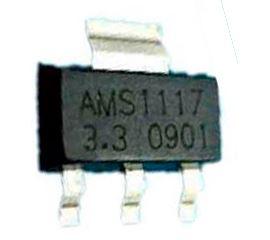 Regulador de Tensão AMS1117 3.3V