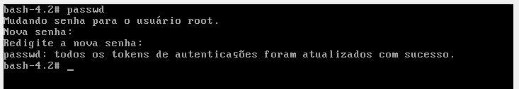 Alterando senha de root no Oracle Linux