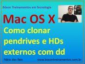 Clonar pendrive e HD externo no Mac OS X com dd