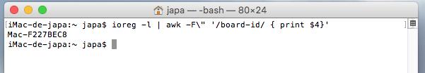 Descobrindo o modelo de placa lógica de um iMac