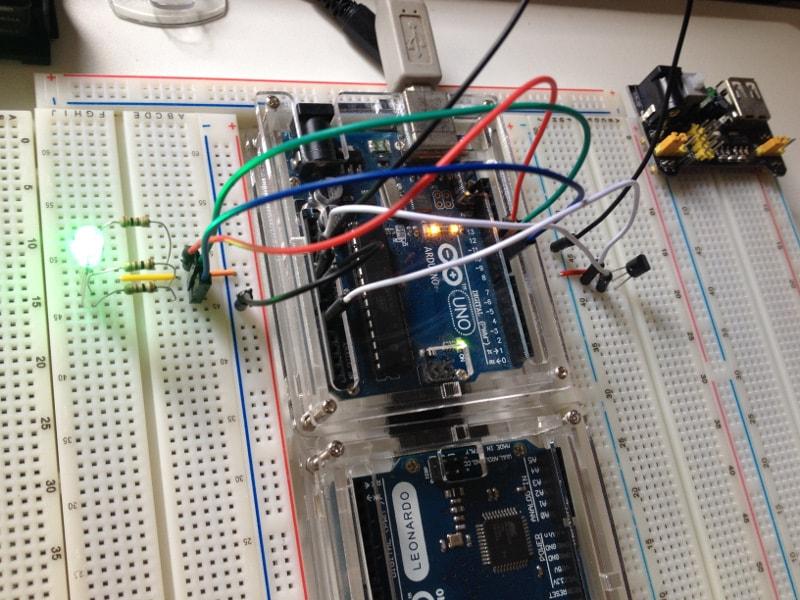 LM35 com Arduino - Monitorando Temperatura