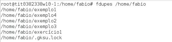 Comando fdupes - encontrando arquivos duplicados no Linux