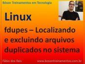 Localizar e excluir arquivos duplicados no Linux com fdupes
