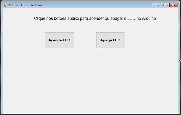 Acionando LED no Arduino com C# e Microsoft Visual Studio