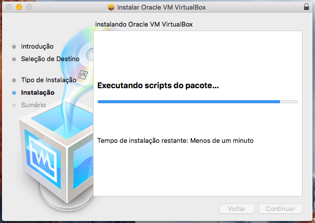 Como instalar o Oracle VirtualBox no Mac OS X El Capitan