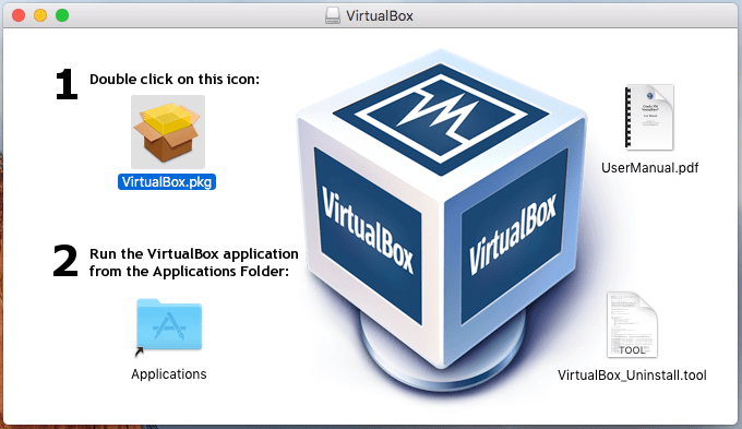 Como instalar o Oracle VirtualBox VM no Mac OS X Yosemite