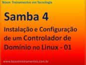 Controlador de Domínio com Samba 4 no Linux