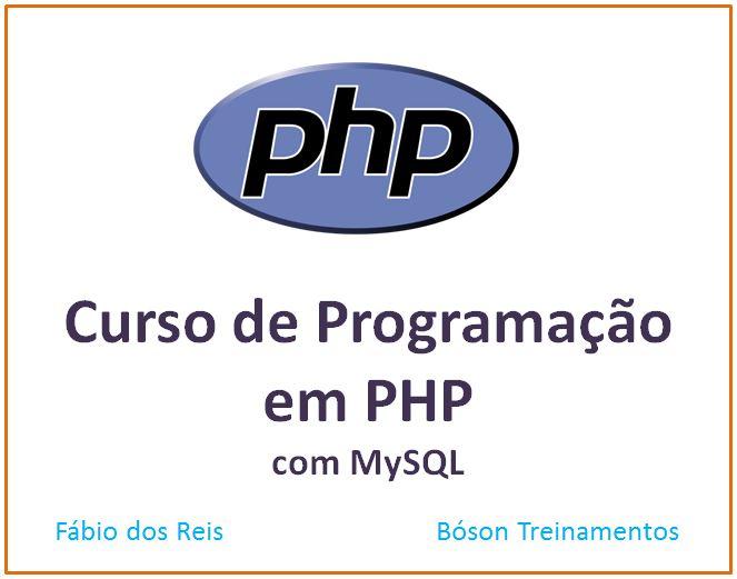 Curso de Programação Web com PHP e MySQL