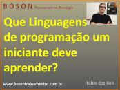 Linguagens de programação para iniciantes