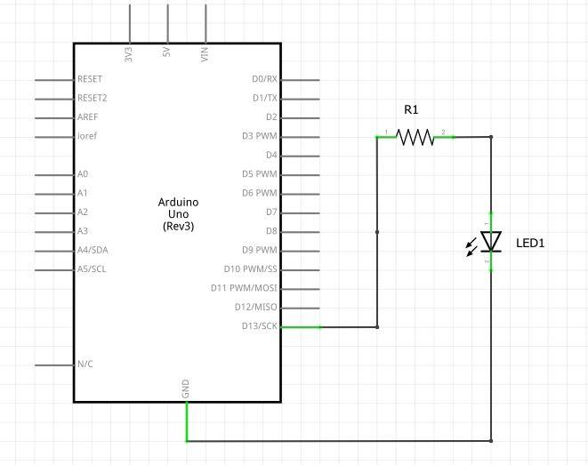 Piscando LED com Arduino e C#