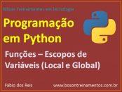 Escopo de Variáveis em Python