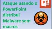 Ataque via PowerPoint com PowerShell