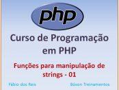 Funções para manipulação de strings em PHP