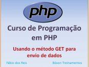 Método GET para envio de dados em PHP