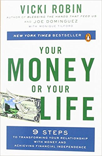 Your money or your life-  livro educação financeira
